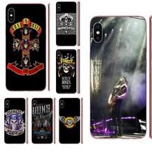 Для Huawei Honor 4C 5A 5C 5X 6 6A 6X 7 7A 7C 7X 8 8C 8S 9 10 10i 20 20i Lite Pro в продаже роскошный Gnr Band Guns N Roses Cross(China)