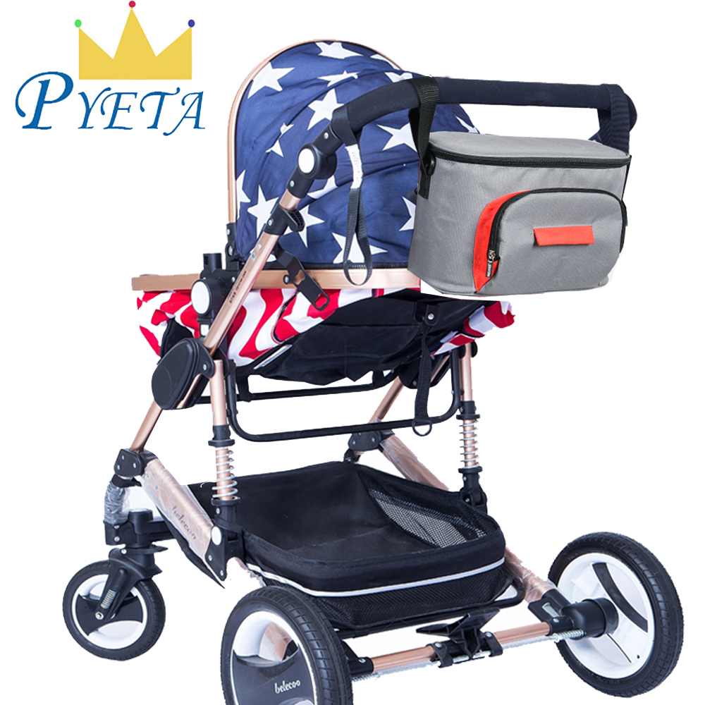 PYETA Baby Stroller Bag Diaper Organizer,Maternity Mummy Bag Baby Waterproof Diaper Bag,Nappy Bags With Large Capacity