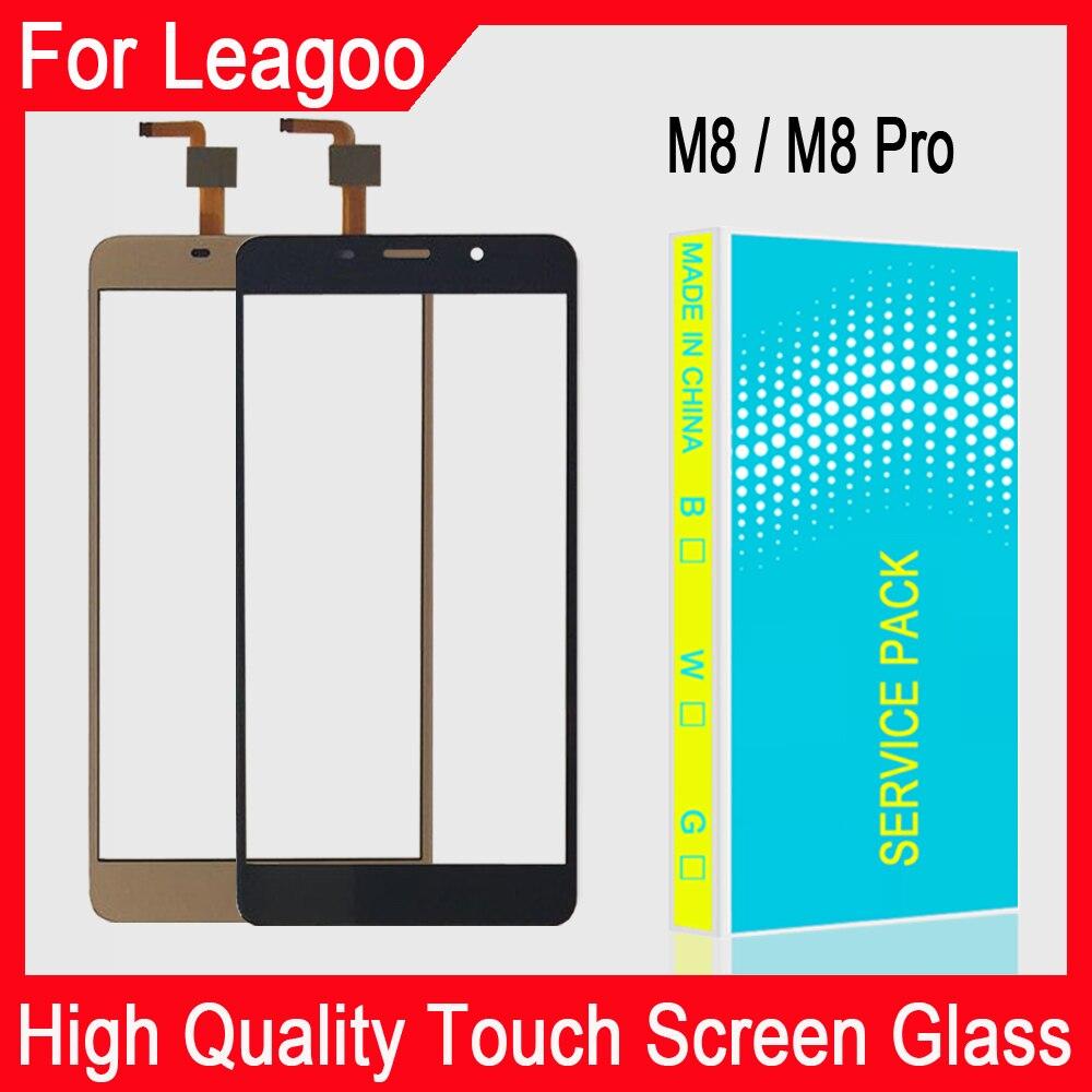 5,7 дюйма для Leagoo M8 Pro Сенсорный экран дигитайзер для Leagoo M8 сенсорная Сенсорная панель Сенсорный экран Переднее стекло Бесплатный клей + салфе...
