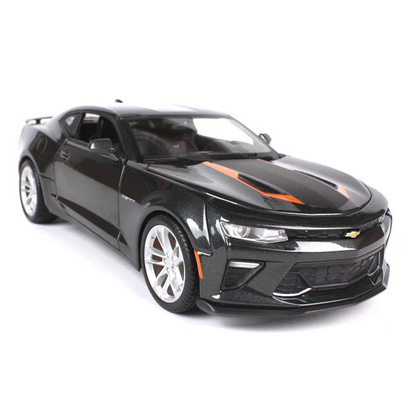 1/18 Scale simulation alloy diecast vehicle metal 2017 Camaro SS sports car model adult child boys toys gift collection display