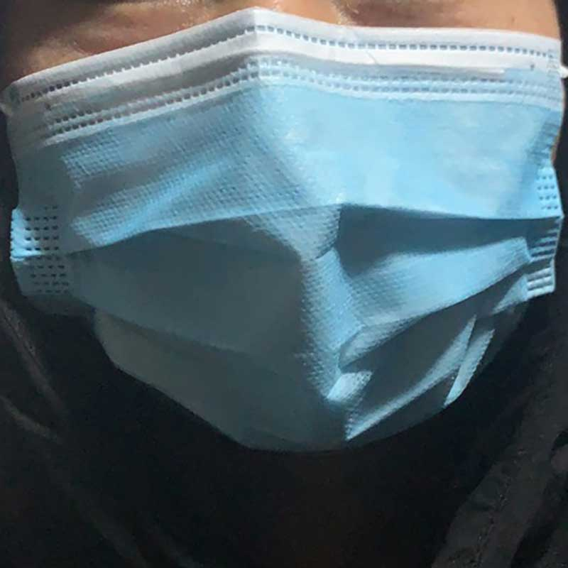 Pm2.5 KN95 Dustproof Anti-fog And Breathable Face Masks 95% Filtration N95 Masks 3 Layers Filter Respirator VKOT1008