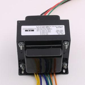 Image 2 - 140W Buizenversterker Transformator 230VX2 6.3VX1 6.3VX1 Hoge Kwaliteit Transformator Voor EL34 Buis Power Amp
