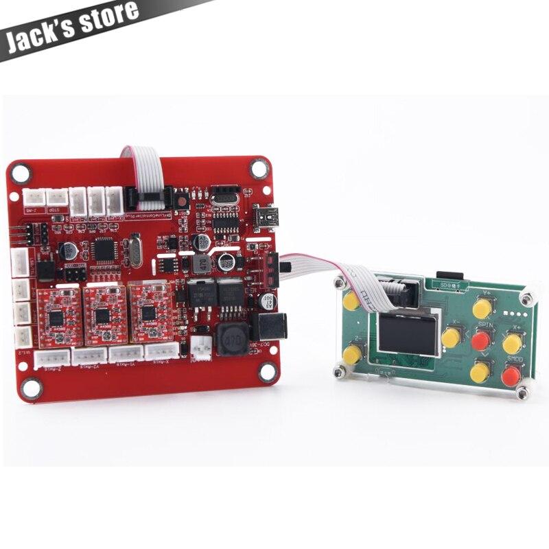 Porta USB placa de controle com controlador offline para cnc1310 atualizado/1419/1610/2418/3018, GRBL controle, placa de laser gravadora