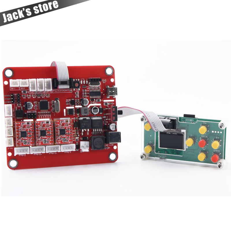 Upgraded USB Port Control Board With Offline Controller For Cnc1310/1419/1610/2418/3018, GRBL Control, Laser Engraver Board