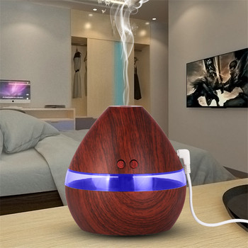 300ML LED Humidificateur à Ultrasons Diffuseur D'air Frais Purificateur Maison Bureau Chambre Portable Assainisseurs D'air