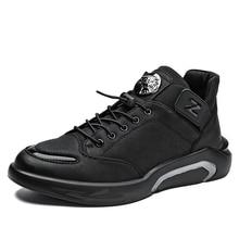 Winter Shoes Style Autumn Sports Fashion Brand New Microfiber Men