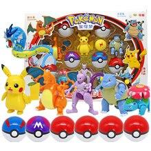 Pokeball toys Elf Pet Deformation Set Golfer Do Pikachu Toys Spitfire Dragon Little Super Dream Pokemon toy