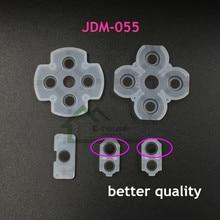 وسادات مطاطية موصلة LR لجهاز PS4 ، 100 وحدة ، أزرار تحكم JDM055 ، اتصال مطاطي لجهاز PS4 JDS 050 055