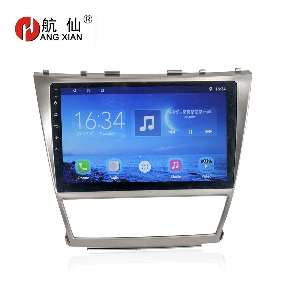 """Автомобильный радиоприемник HANG XIAN 10 """"для Toyota Camry AURION v40 2006 2011 четырехъядерный Android 7,0 автомобильный dvd плеер gps navi с 1 G RAM, 16G ROM Мультимедиаплеер для авто      АлиЭкспресс"""