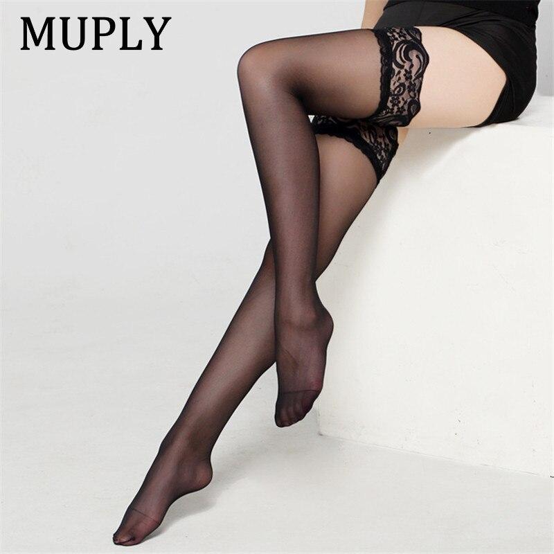 Новинка 2020, сексуальное нижнее белье , кружевной чулок , черный , белый , прозрачный, сексуальные , длинные носки , красивые, в наличии чулки же...