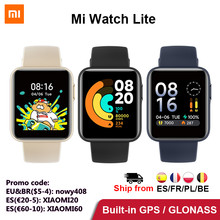 Globale Version Xiaomi Mi Uhr Lite GPS Fitness Tracker 24H Herz-Monitor-Sport Armband 1,4 Zoll Bluetooth 5,0 smartwatch