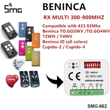 Multiple frequencies 300-868mhz gate garage Remote receiver compatible ATA BENINCA DITEC FAAC DOORHAN DEA consoles