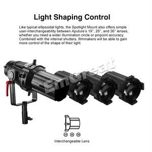 Image 3 - Aputure Spot Ligth Interchangeable Lens 19° 26° 36° for Aputure Spotlight Mount Set