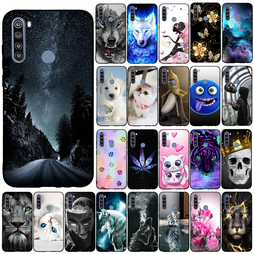 For Xiaomi Redmi Note 8T Back Cover Silicone Phone Case For Redmi Note 8T Note8T 8 T Funda Coque Capa Bumper Protect Shell Bag(China)