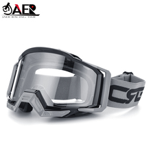 JAER 100% ATV DH MTB Motocross Helmet Goggles for Dirt Bike Motorcycle Glasses Ski Sport Masque Moto