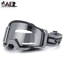 JAER-gafas para casco de Motocross, 100%, ATV, DH, MTB, para Moto de cross, gafas de deporte de esquí