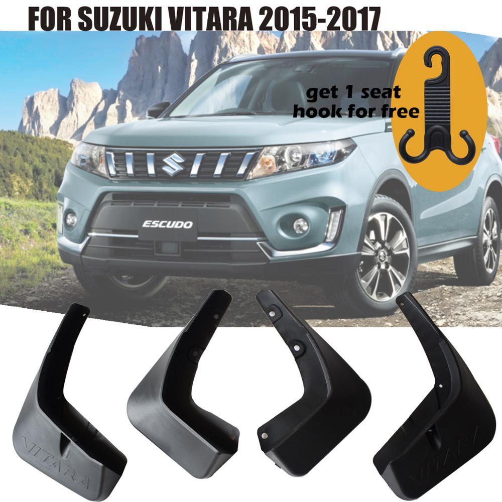 Plastic Splash Guards Mud Flaps Mud Guards for Suzuki Vitara Escudo 2015-2017