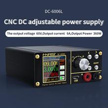 Fnirsi-fuente de alimentación Micro alimentador Dc6006l PD 80W, convertidor de voltaje reductor, voltímetro riden rd6006