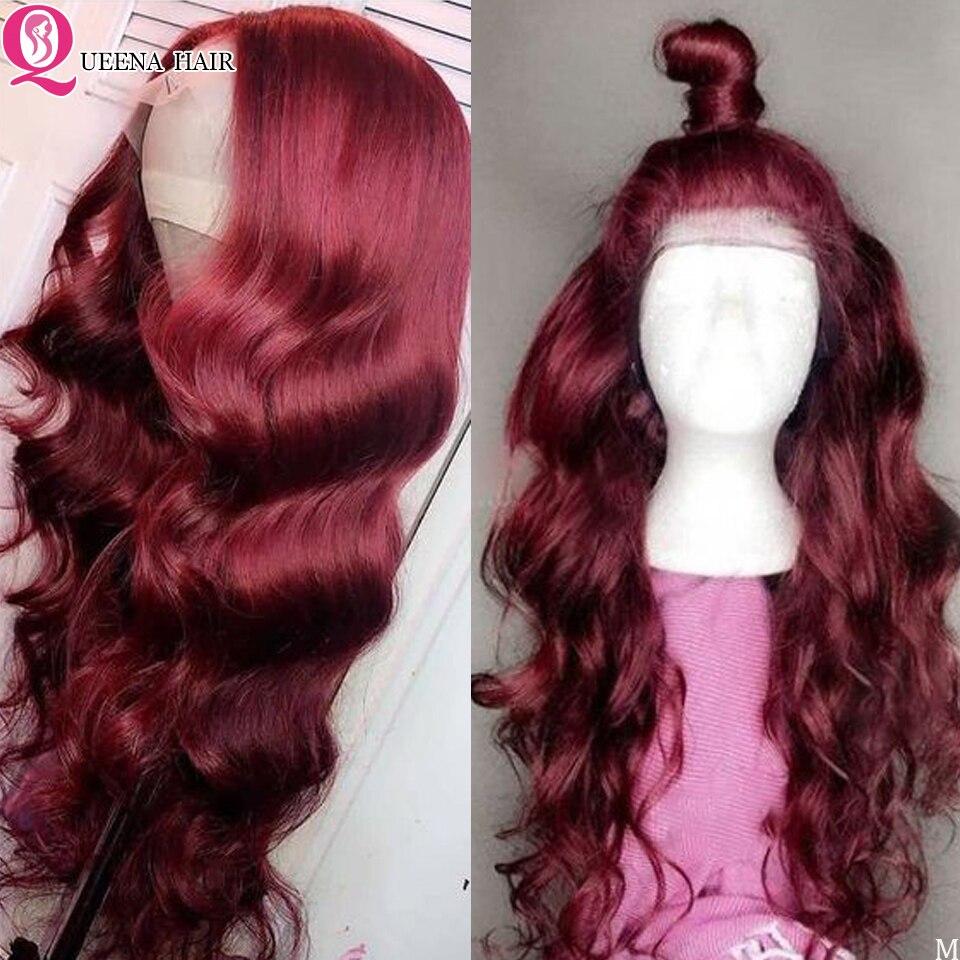 99J human hair wig