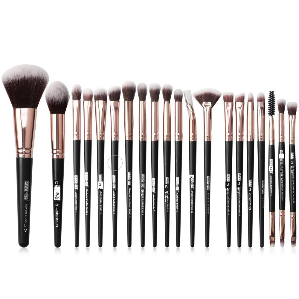 Maange/maange 20 Makeup Brush Set Eye Brush Beauty Tool Manufacturers Direct Selling Foreign Trade Hot Sales