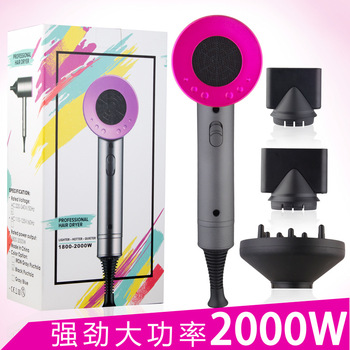 Honglin 2000W Professional Hair Dryer negative ion Constant temperature household appliances dormitory hair dryer Hot Cold Wind soarin professional hairdryer black high power constant temperature hair dryer hot cold air ectric hair dryer household