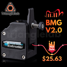 BMG Extruder Cloned MK8 CR10 3d-Printer Dual-Drive Trianglelab Btech Ender3 TEVO