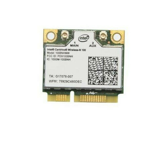 For Intel Centrino Wireless-N 100 100BNHMW 802.11b/g/n 150Mbps PCIe Half Mini Wireless Card(China)
