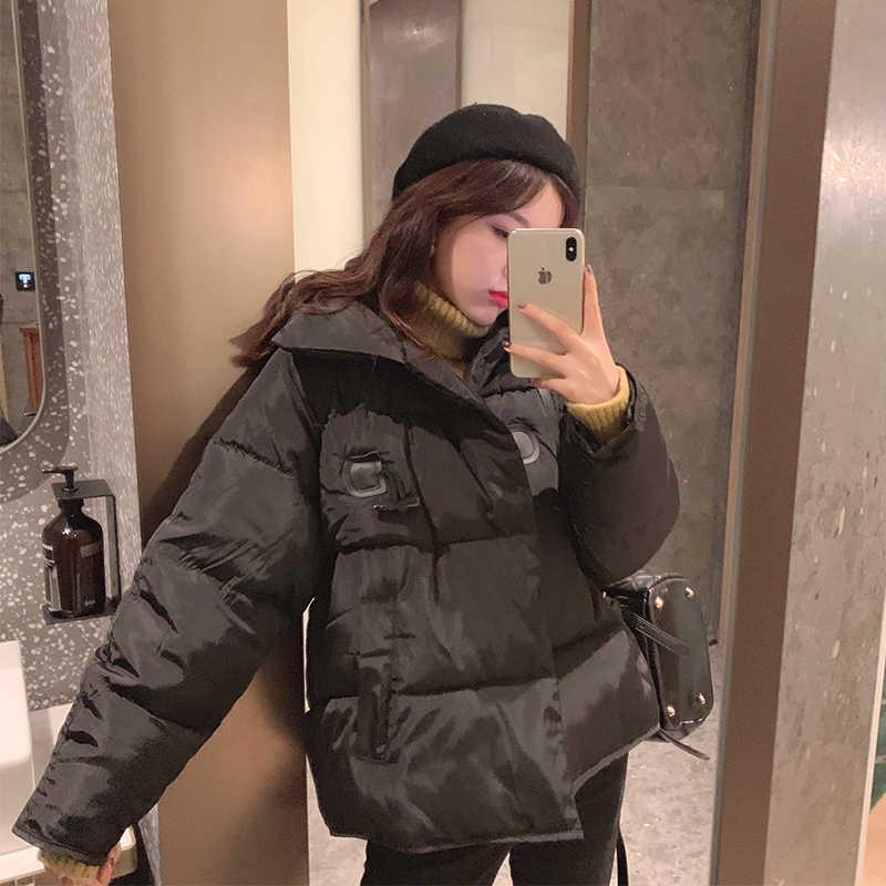 MISHOW 秋冬ジャケット女性服ダウン綿のコートの女性パーカーカジュアル厚手のジャケットショートルース暖かいコート MX19D8225