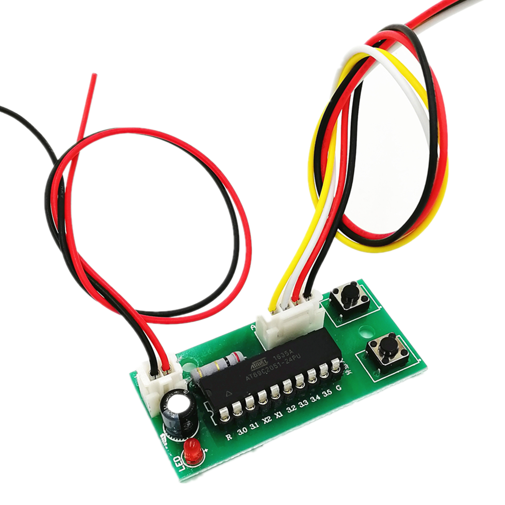 Mini módulo de controlador de motor de passo, motor de passo cw ccw com 2 fases de 4 fios placa para frente traseira Controlador do motor    -