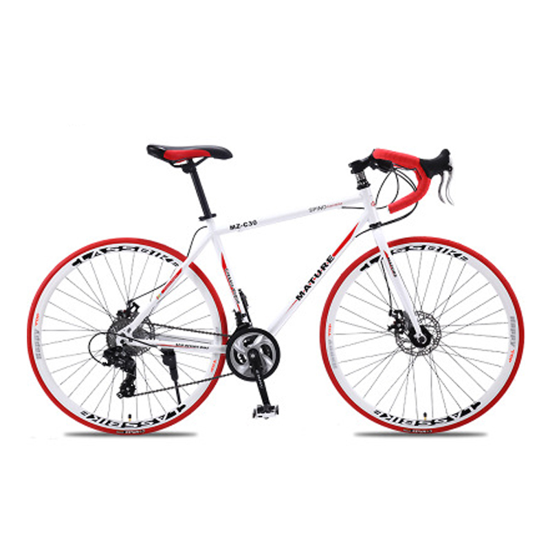 700c дорожный велосипед из алюминиевого сплава 21 27and30speed дорожный велосипед двухдисковый песочный дорожный велосипед ультра-светильник