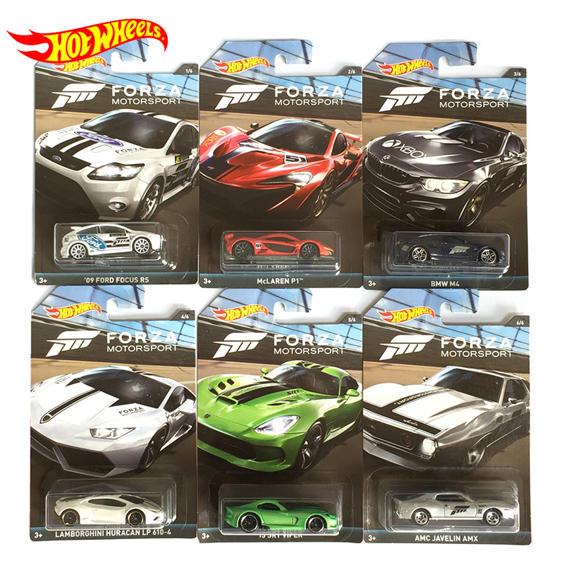 Original Hot Wheels Car Toys Diecast 1/64 Model Car Hotwheels Carro Forza Series Hot Toys for Children Collector Edition
