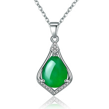 New Green Necklace Fashionable Simple Pendant Gift Jewelry Gorgeous Noble Gifts