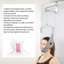 Hanging Neck Traction Kit Adjustable Cervical Traction Device Chiropractic