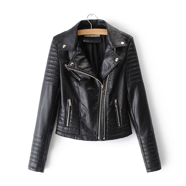 Smooth Motorcycle Leather Jackets  1