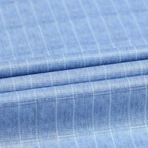 Image 5 - Holiday Casual Short Sleeve Checkered Printed Shirts Pocket less Design Standard fit Comfortable Soft Thin Mens Plaid Shirt