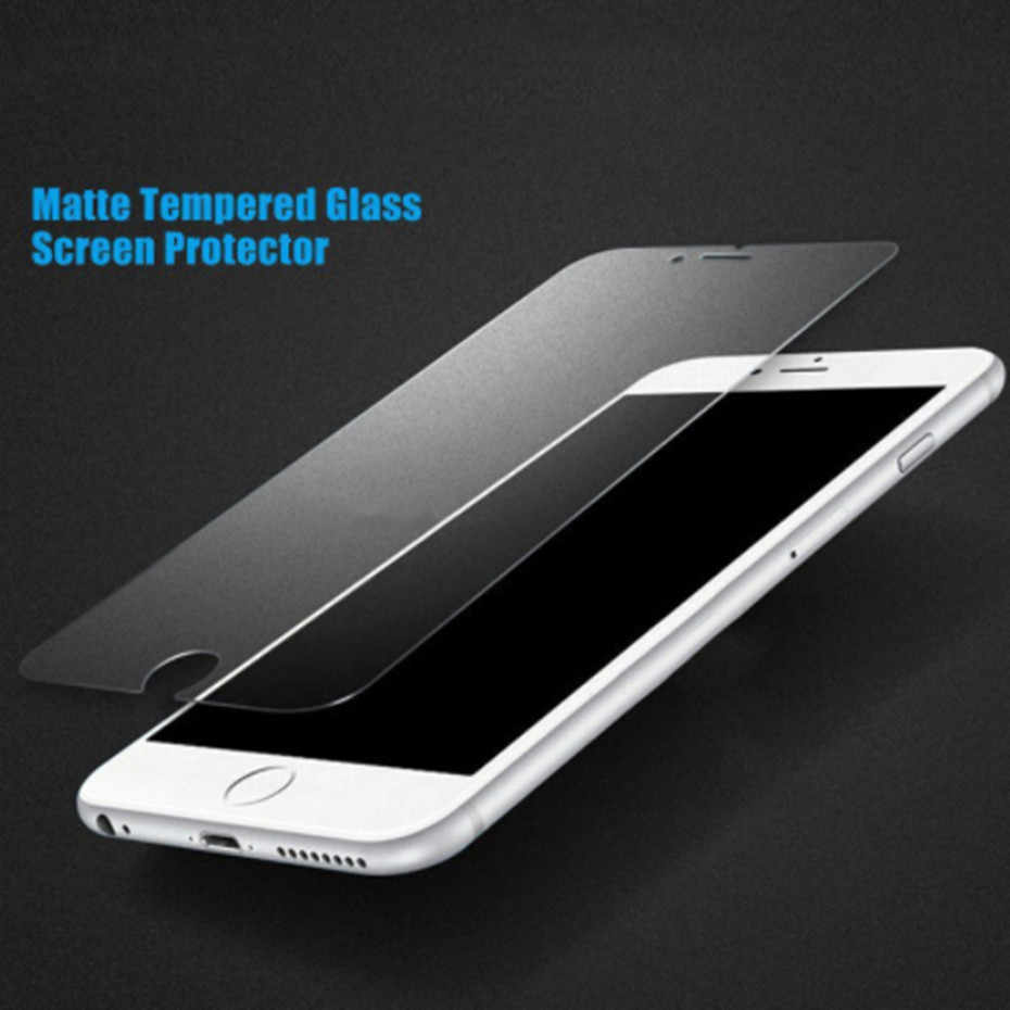 マット保護ガラス iphone 7 8 6 6s プラス iphone 11Pro XS 最大 XR 指紋スクリーンプロテクターための iphone 7 6 4s 5 5s 5c SE