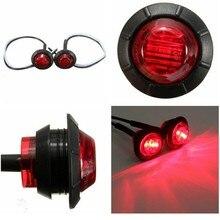 12В прицеп светодиодные, боковые, габаритные фонари для грузовых автомобилей Габаритные огни янтарные боковые габаритные светодиодные авто лампы сигнала поворота