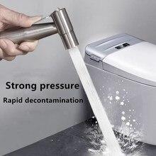 Handheld Toilet Bidet sprayer Clean the home Pet shower anus Portable Set  Retractable Spring Hose Adapter Mounting Tool bidet