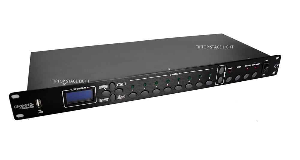 Gigertop TP D1342/TP D1343 1U DMX 512 Recorder/Licht Control Panel Programm Speicher Lauf Konsole Für KTV/CLUB /Disco Zimmer - 4