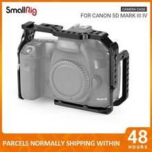 Клетка smallrig для камеры canon 5d mark iii iv dslr с направляющими