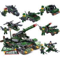 Building Blocks 6 In 1 Ww2 Germany Tank Army Toy Blocks Military Vehicles World War 2 Tank Figures Toys For Children