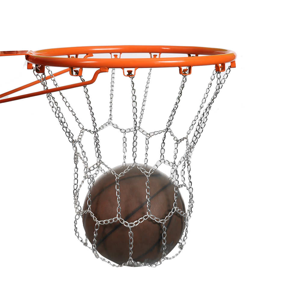 Classic Steel Chain Sports Basketball Hoop Metal Targe Net Outdoor Backboard Goal Rim  Basketball Mesh Outdoor Galvanized Durabl