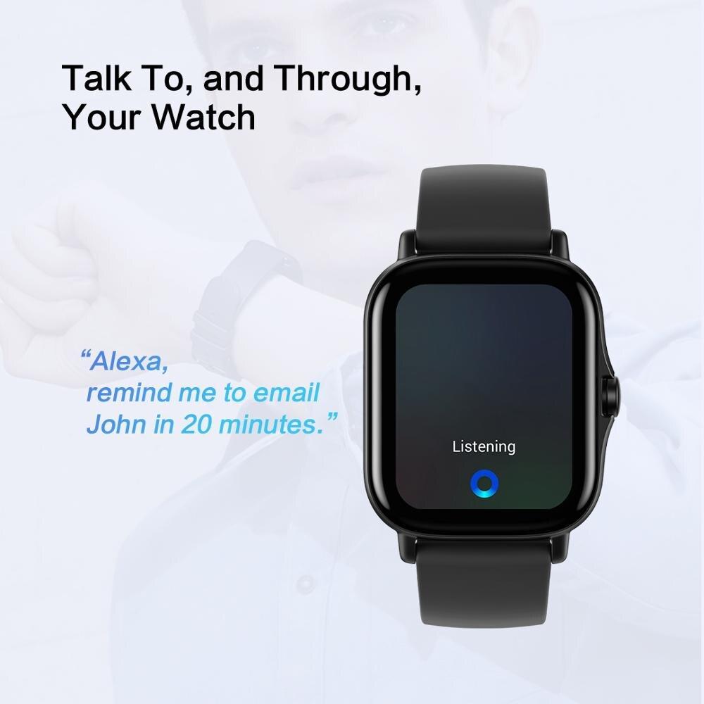 Смарт-часы Amazfit GTS 2, водостойкие до 5 АТМ, AMOLED-дисплей-2