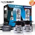 NOVSIGHT H4/HB2/9003 светодиодные H7 H11 9005 9006 Автомобильные светодиодные фары 6500K белый 60 Вт лм противотуманная лампа