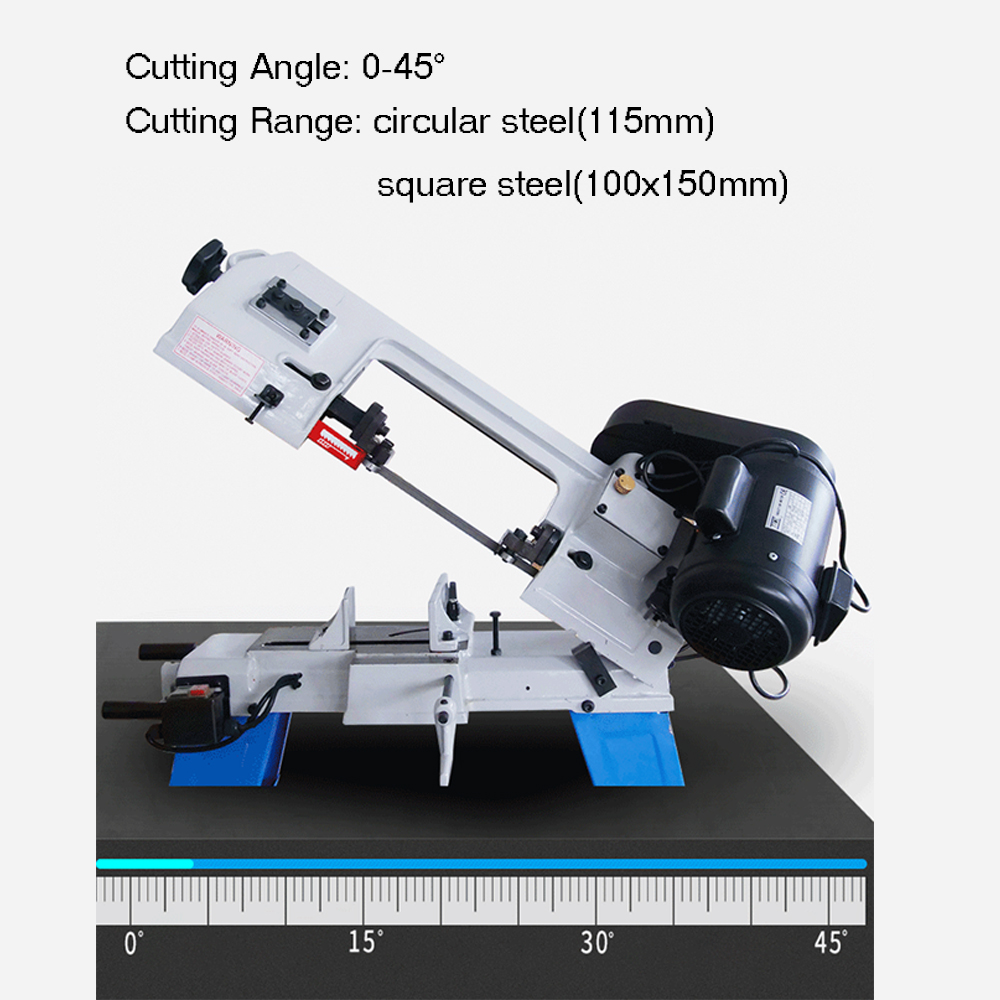 H02d774ab7a014f3bb69c14e5c0ad8087S - LIVTER multifunctional horizontal vertical wood metal cutting band saw machine hand tools