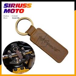 Motorcycle Keychain Cowhide Key Ring Case for Honda Hornet Key CB1000R CB250F CB600F CB900 etc