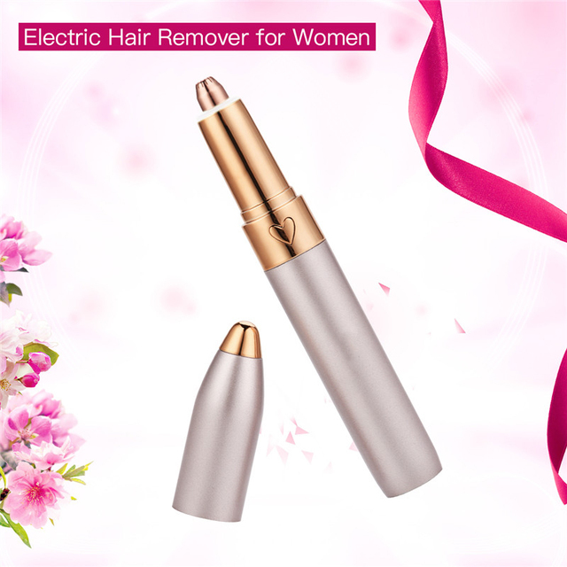 Electric Hair Removal  USB Eyebrow Trimmer Shaver Razor Lady Eyebrow Epilator  LED Light  Eyebrow Shaving Makeup Tool 5