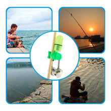 2pc Hot Outdoor Twin Rod Bells Ring Fishing Bait Lure Accessory alarm product 10 pcs fishing bite alarms fishing rod bells outdoor fishing accessory rod clamp tip clip bells ring