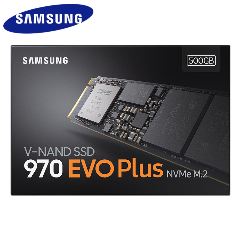 Samsung <font><b>ssd</b></font> M.2 <font><b>M2</b></font> <font><b>ssd</b></font> 1TB 250GB <font><b>500GB</b></font> 970 Evo Plus HHD <font><b>Nvme</b></font> Internal Solid State Drive Hard Disk 2280 Mlc Pcie for Laptop image