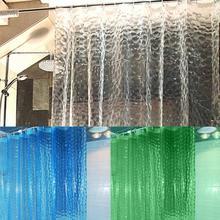 1,8*1,8 м три цвета стойкая к действию плесени, водонепроницаемая 3D утолщенная для душа и ванной занавеска с крючками экологически чистые Товары для ванной комнаты
